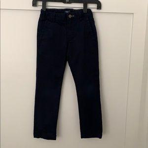 Boys GapKids Skinny Stretch Navy pants size 7